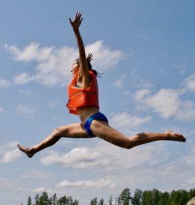 leaping leg lifts