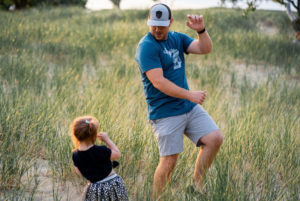 Dad fun with kids